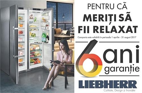 Programul 6 Ani Garantie Liebherr
