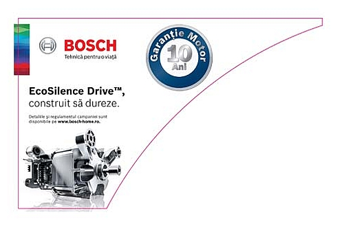 10 ani garantie pentru motorul EcoSilence Drive